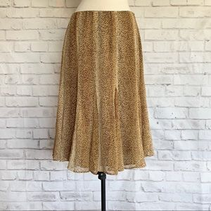 Jones New York Silk Skirt